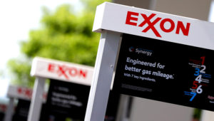 Exxon service station signs in Nashville, Tenn. Exxon Mobile Corp.