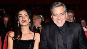 BERLIN, GERMANY - FEBRUARY 11: George Clooney and Amal Clooney attend the 'Hail, Caesar!' premiere during the 66th Berlinale International Film Festival Berlin at Berlinale Palace on February 11, 2016 in Berlin, Germany. (Photo by Pascal Le Segretain/Getty Images)