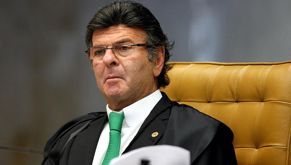 O ministro Luiz Fux, que assumiu a presidência do TSE nesta terça-feira (Nelson Jr./SCO/STF/Divulgação)