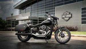 Motocicleta 2018 Sport Glide de Harley-Davidson, www.harley-davidson.com
