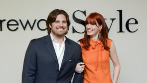 RewardStyle creators Baxter Box and Amber Venz Box, always camera ready. Photo: Dallas Business Journal.