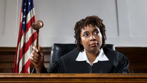 African American Judge. Imagen de stock: Alamy.