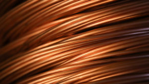 Copper prices hit their highest level in nearly two months, buoyed by a weaker dollar. PHOTO: ANDREY RUDAKOV/BLOOMBERG NEWS