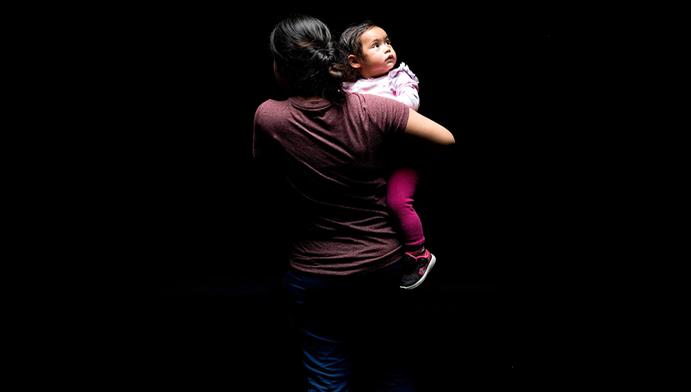 Estefania was just 7 months old when her father was deported last spring. Photo: Michele Asselin for TIME