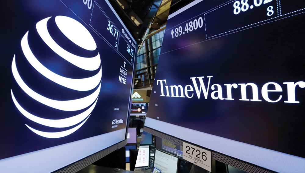 AT&T y Time Warner. Photo: SHUTTERSTOCK.