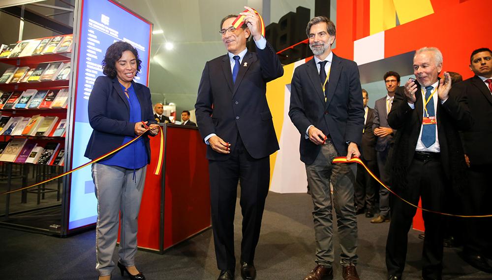 Jefe de Estado inaugura Feria del Libro de Lima. 19 de julio de 2018. Foto: Presidencia Perú (Flickr)