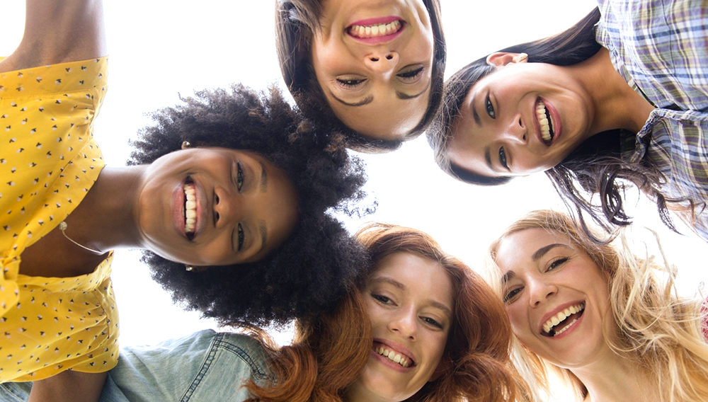 Diverse women