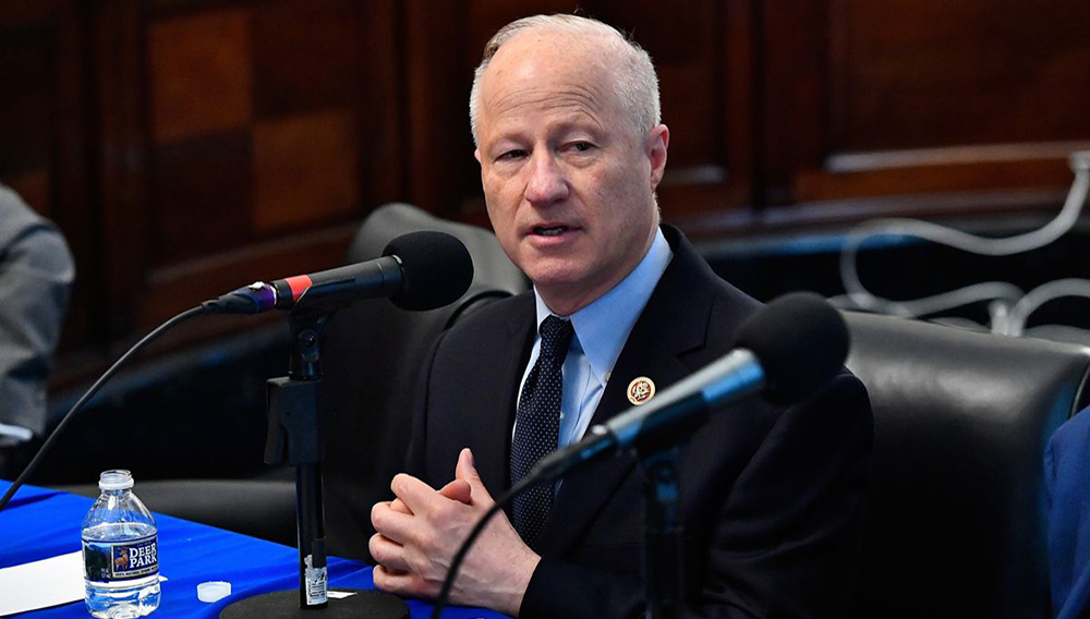 Congressman Mike Coffman. Photo by Larry French / Getty Images for SiriusXM