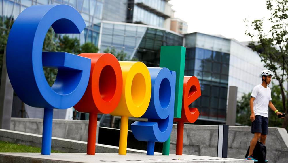 Imagen de archivo del logo de Google, de Alphabet, en sus oficinas en Pekín, ago 8, 2018. REUTERS/Thomas Peter