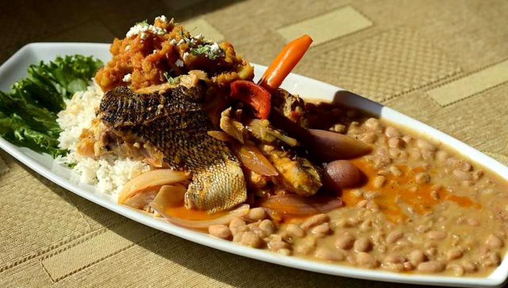 """Fotografía de un plato """"Malarrabia"""", típico de la cocina peruana. EFE/Raúl García"""