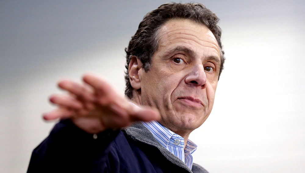 Andrew Cuomo speaks in New York City on April 2, 2018. (AP Photo / Seth Wenig)