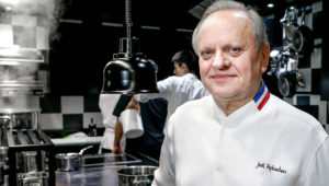 Legendary French chef Joel Robuchon. (AAP)