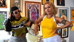Tomasa y Ms Nina. Foto: EFE