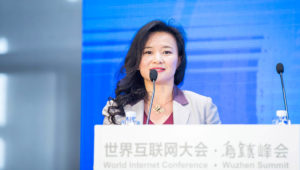 Cheng Lei, 4th World Internet Conference. CGTN Photo.