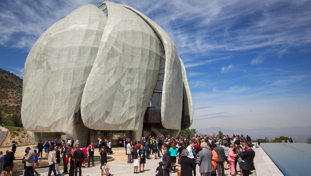 Inauguración Templo Bahá`í Sudamerica. Foto: Casa de Adoración Bahá`í de Sudamérica.
