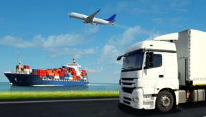 Transporte y logística nacional e internacional.