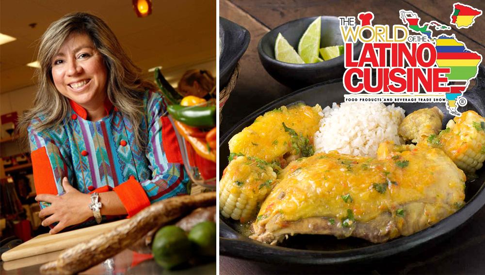 Celebrity chef AMALIA MORENO-DAMGAARD. https://www.amaliallc.com