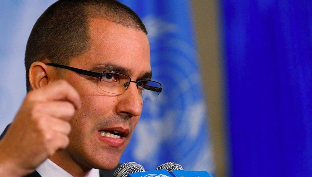 El canciller venezolano Jorge Arreaza. BRENDAN MCDERMID - REUTERS