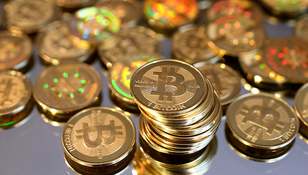 Bitcoin. George Frey/Getty Images