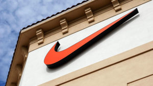 Nike brand logo. Getty Images