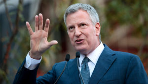 Bill de Blasio. Getty Images