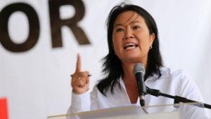 La hija del expresidente peruano Alberto Fujimori, Keiko Fujimori. (Cortesía: www.andina.com)