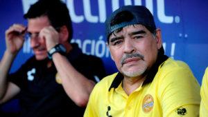 Diego Maradona habló de todo lo que le molesta (Juan Manuel Foglia / Enviado Especial)