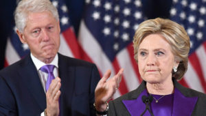 Hillary Clinton says her husband was right to not step down amid the Monica Lewinsky scandal in the 1990s. (JEWEL SAMAD/AFP/Getty Images)