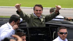 Jair Bolsonaro. CARL DE SOUZA / AFP
