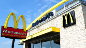 Plans for a walkout —to start at lunchtime on Sept. 18— have been approved in recent days by ''women's committees'' formed by employees at dozens of McDonald's restaurants across the United States. KAREN BLEIER/AFP/GETTY IMAGES