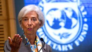 La titular del Fondo Monetario Internacional, Christine Lagarde. FOTO: BLOOMBERG