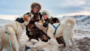 Dogsledding Ilulissat Greenland. Photo: Hopscotch the Globe