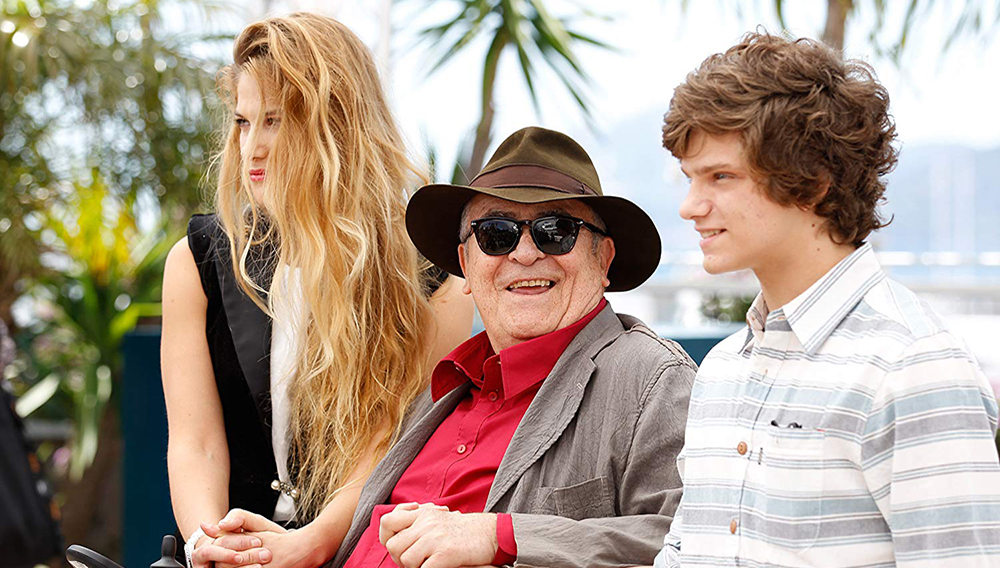 Bernardo Bertolucci, Tea Falco, and Jacopo Olmo Antinori at an event for Io e te (2012). Photo by Andreas Rentz - © 2012 Getty Images - Image courtesy gettyimages.com