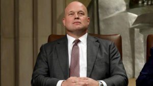 Acting attorney general Matthew G. Whitaker worked for a charity called the Foundation for Accountability and Civic Trust for three years, starting in 2014. (Yuri Gripas/Reuters)
