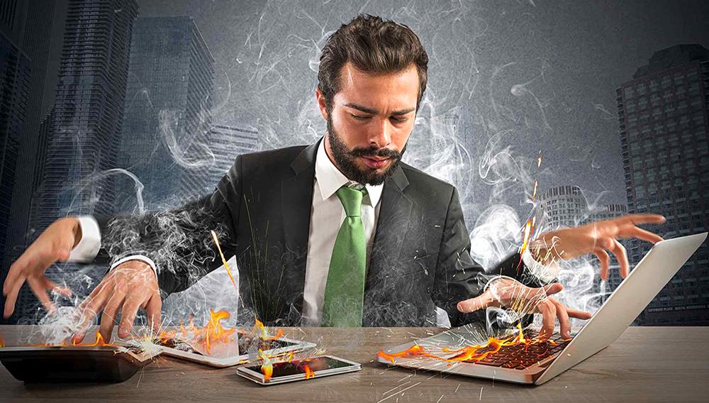 Excesso de Empresário. iStock/Getty Images