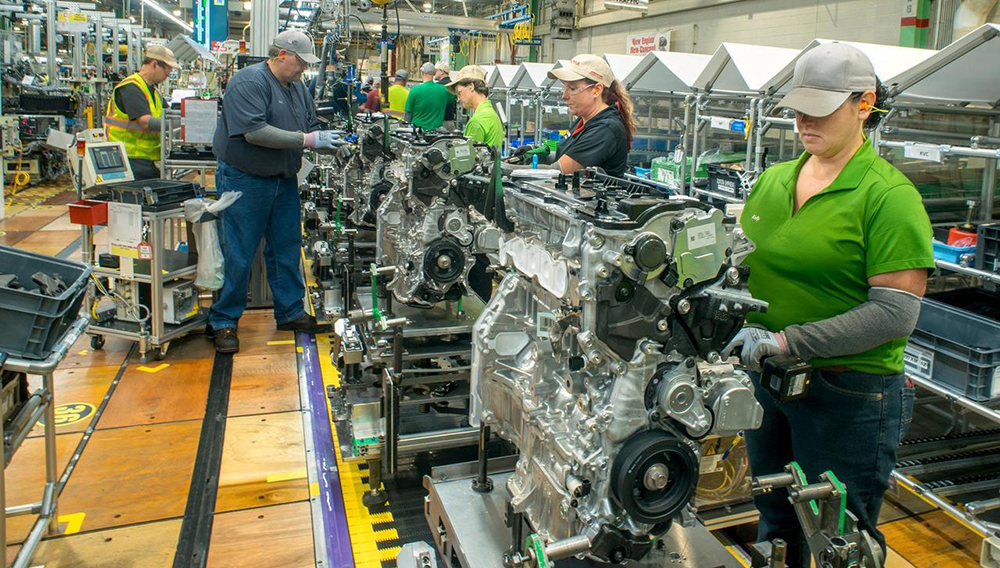 Toyotas first u built hybrid engine will be for highlander. Photo: Toyota