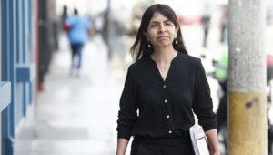 Giulliana Loza, quien ha sido incluida como investigada en la indagación por los aportes a la campaña de Fuerza 2011, es acusada del presunto delito de obstrucción de la justicia. (Perú21)