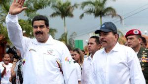 Presidentes de Venezuela y Nicaragua, Nicolás Maduro y Daniel Ortega.