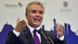 Iván Duque, presidente de Colombia. Foto: Presidencia