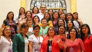 Jefe de Estado se reúne con 55 alcaldesas distritales y provinciales electas en Palacio de Gobierno. Foto: Presidencia Perú (Flickr)