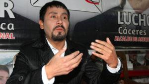 Elmer Cáceres Llica está en aprietos por tres denuncias de violación en su contra. Foto: Diario Perú 21