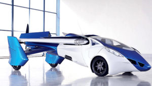 Flying car. Toyota Motor Corporation