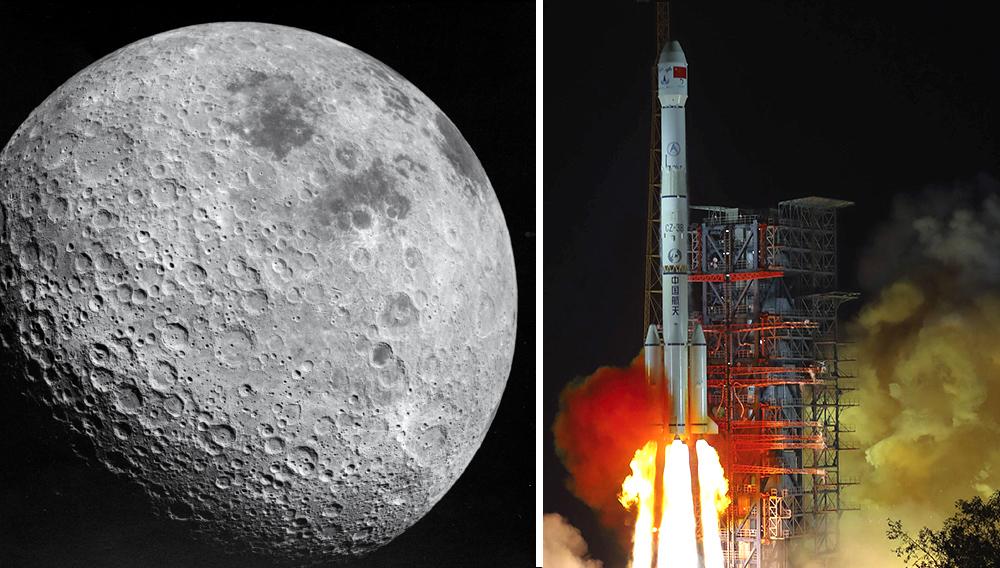 Far side of the Moon, photographed by Apollo 16/En esta imagen de archivo, tomada el 8 de diciembre de 2018 y distribuida por la agencia de noticias china Xinhua, la sonda lunar Chang'e 4 parte del centro de lanzamiento de satélites Xichang, en la provincia de Sichuan, en el suroeste de China. (Jiang Hongjing/Xinhua via AP, archivo)