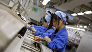 China is recording its worst manufacturing conditions in a year. Reuters: Bobby Yip