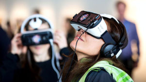 Virtual reality as a tool for empathy? It's an idea from TED2015 that may well be spot-on. Photo: Ryan Lash/TED