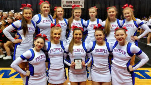 Tremper Cheerleaders. | Photo: Twitter