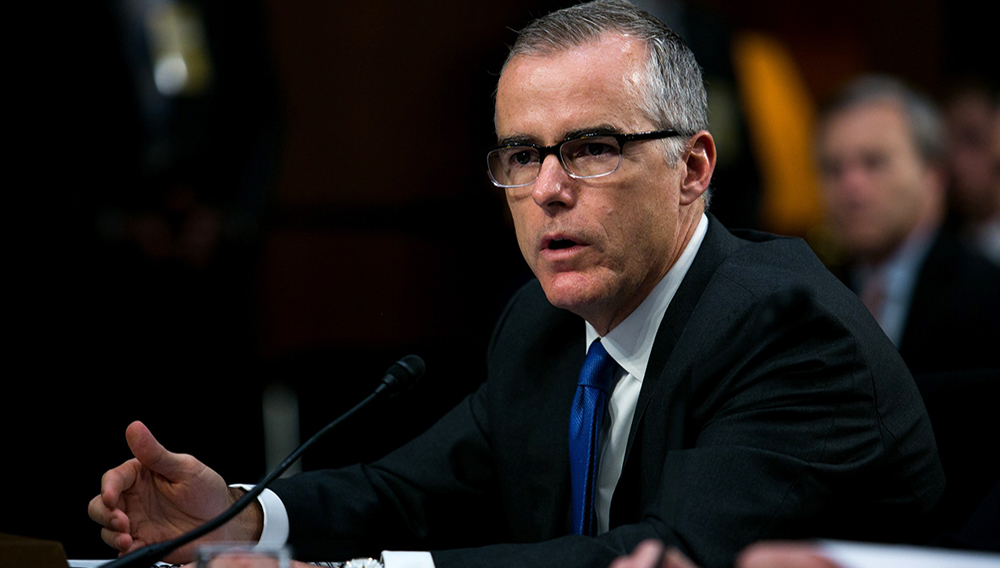 """The book, titled """"The Threat: How the FBI Protects America in the Age of Terror and Trump,"""" will be released Dec. 4. (Graeme Jennings/Washington Examiner)"""
