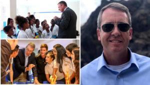 Diplomático estadounidense James Story. En el normalmente refinado mundo de la alta diplomacia, el principal enviado de Estados Unidos en Venezuela tiene un perfil inusual.