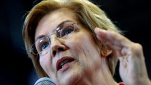 """""""By the time we get to 2020, Donald Trump may not even be president. In fact, he may not even be a free person,"""" said Sen. Elizabeth Warren. 