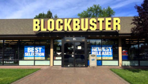 The Blockbuster store in Bend, Ore. (Sandi Harding)